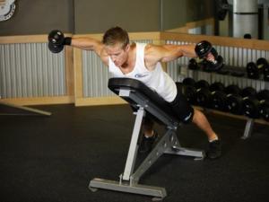 Виды упражнения с гантелями