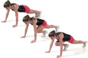 Как делать упражнение «Скалолазы». Техника