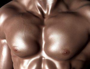 Как накачать грудь мужчине