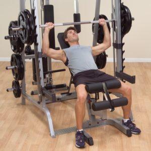 Как нарастить мощные двуглавые мышцы при помощи тренажера Смита
