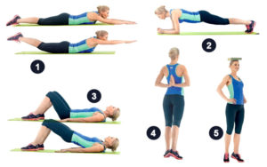 Комплекс упражнений для осанки