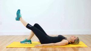 Разминка для укрепления коленей