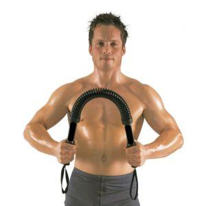 Самые эффективные упражнения с эспандером для мужчин с целью тренировки различных групп мышц