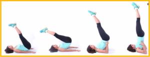 Техника упражнения «Березка»