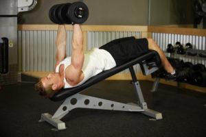 Упражнения для прокачки верхней части груди