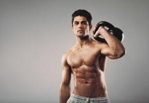 Упражнения с гирей на 16 и 24 кг